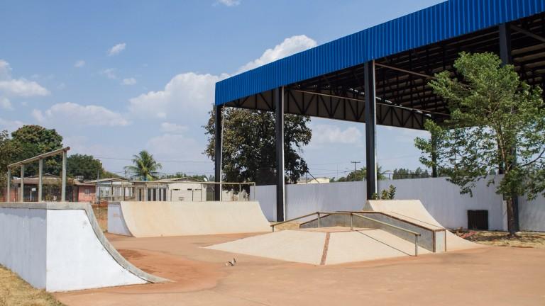 Bairro Parque do Sol vai receber praça de esporte, cultura e lazer