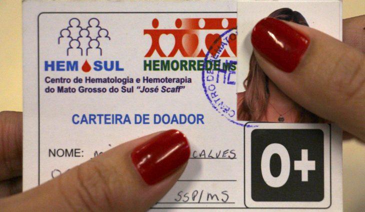 Em sábado frio, ato coletivo no Hemosul aquece a vida de quem precisa de sangue