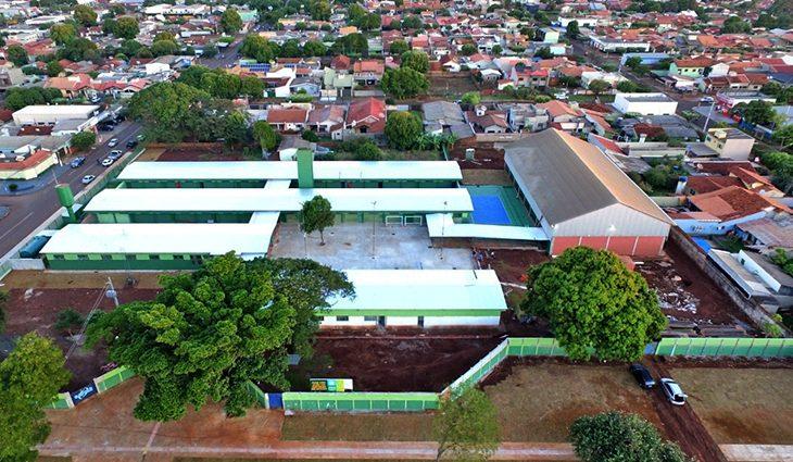 Escolas em Dourados revitalizadas ao custo de R$ 10,4 milhões
