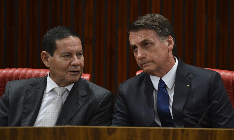 Mourão reclama de ser deixado de fora de reuniões de Bolsonaro