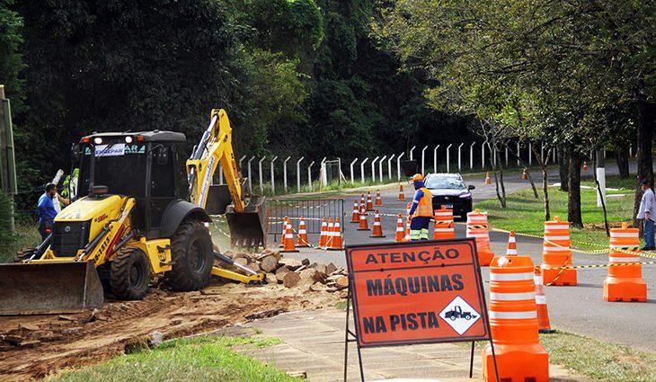Construtora dá início à obra de revitalização do Parque dos Poderes