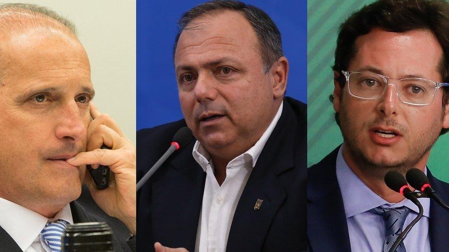 Desvio de R$ 52 milhões: TCU deve investigar Onyx, Pazuello e Wajngarten